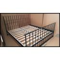Gefängnis Bett 180x200 mit Blende