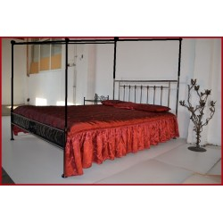 King bed Ludwik 160x200