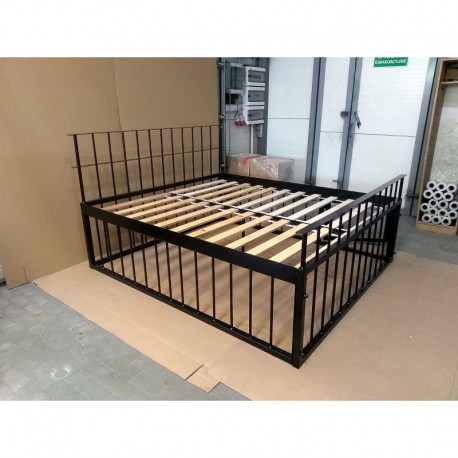 Jail bed 180x200 with cage and canopy