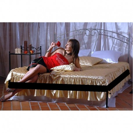 Pamela 120x200 with low footboard with blind