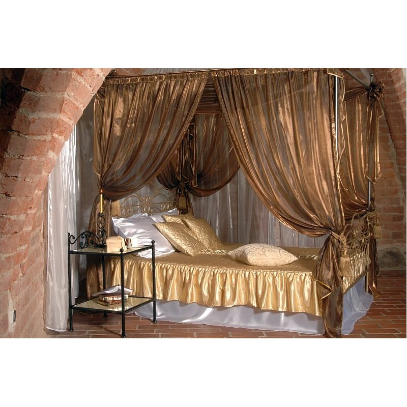 himmelbett wiking 180x200. Black Bedroom Furniture Sets. Home Design Ideas