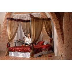 King bed Pamela 120x200