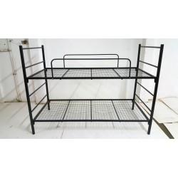 Foldaway metal bunk bett 90x200 with metal net