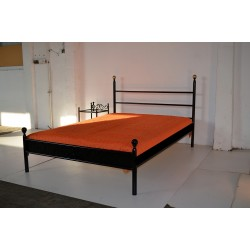 Julius 140x200 with low footboard and blind