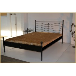 Nikola 140x200 with low footboard and blind