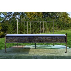Ludwig 120x200 with low footboard with blind