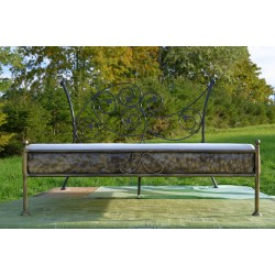 Aurelia 120x200 with low footboard with blind