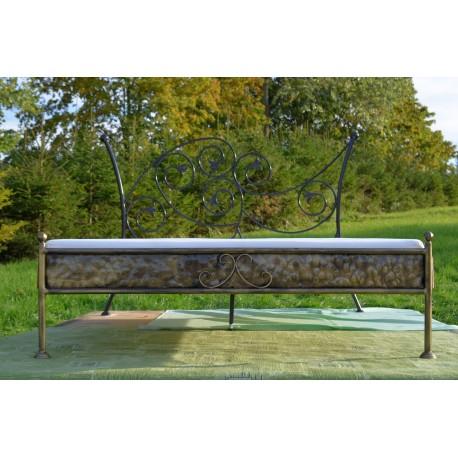 aurelia 140x200 mit niedrigem fu teil mit blende www. Black Bedroom Furniture Sets. Home Design Ideas