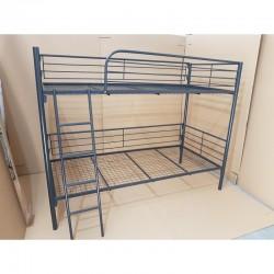 Metal bunk bed 80x200 with metal net